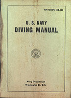 58 Navy Dive Manual