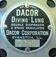R-2 Diving Lung